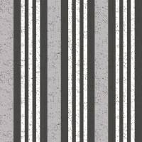 Rayure Manhattan Wallpaper - Black