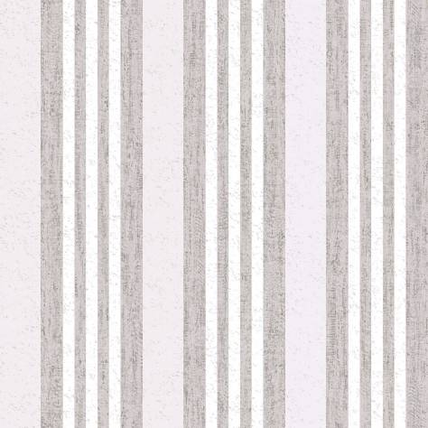 Caselio  Life Wallpapers  Rayure Manhattan Wallpaper - Silver - 64439085