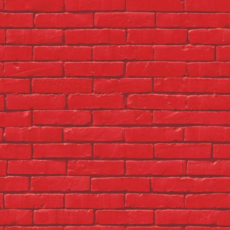 225 & Caselio Brick Wall Wallpaper - RedProduct Code: 64458060