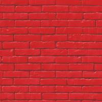 Brick Wall Wallpaper - Red
