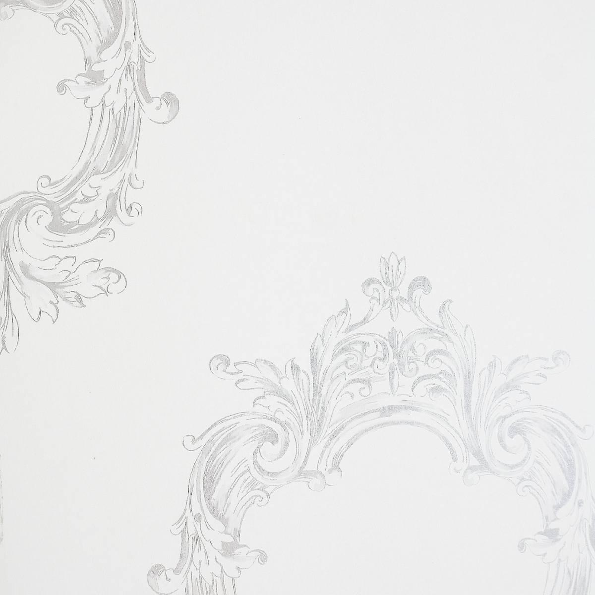 Miroir wallpaper white 63469000 caselio legends for Miroir wallpaper