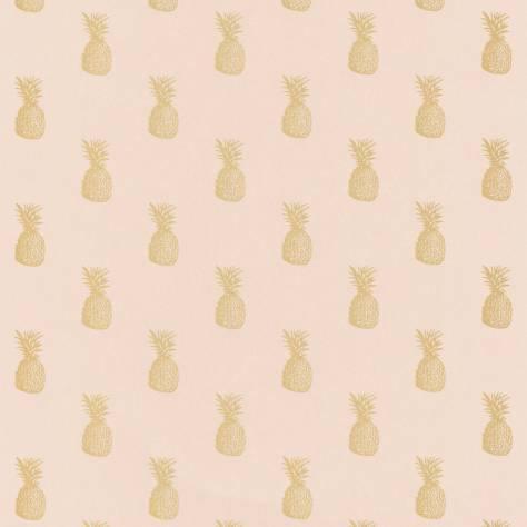 Caselio  Shine Wallpapers Ananas Wallpaper - Rose Gold - 68564029