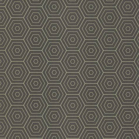 Caselio  Shine Wallpapers Hexagone Wallpaper - Black - 68609122