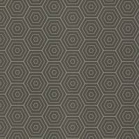 Hexagone Wallpaper - Black
