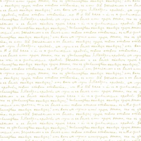 Caselio  Shine Wallpapers Wording Wallpaper - White/Gold - 68610027