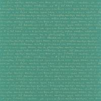 Wording Wallpaper - Turquoise