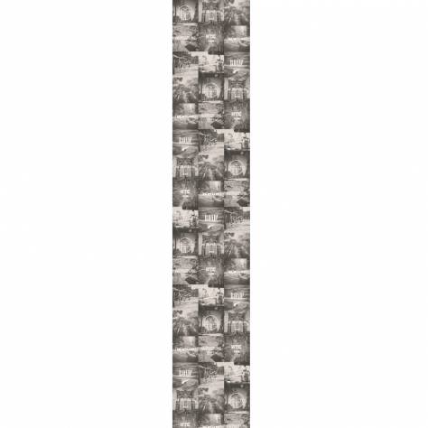 Caselio  Street Art Fabric & Wallpapers Instagram Wallpanel - White/Grey - 68270090