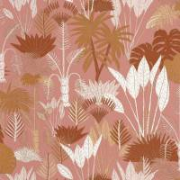 Philippines Wallpaper - Terracotta / Rose / Dore