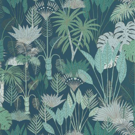Caselio  L'Odyssee Wallpapers Philippines Wallpaper - Bleu Nuit / Vert / Dore - OYS101416119
