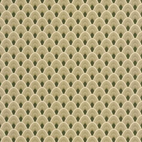 Caselio  L'Odyssee Wallpapers Mayotte Wallpaper - Vert - OYS101457212