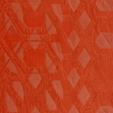 Casamance  Copper Wallpapers Bronze Wallpaper - Orange - 73470465