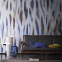 Rainforest Wallpanel - Bleu