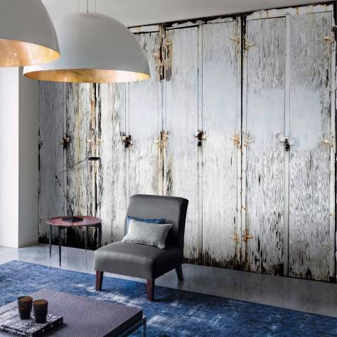 Casamance  Oxymore Two Wallpanels Charniere Du Temps Wallpanel - Beige - 77553480