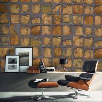 Agile Argile Wallpanel - Orange