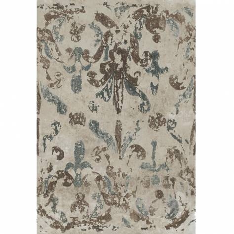 Casamance  Oxymore Two Wallpanels Chez Les Grecs Wallpanel - Bleu - 77650289
