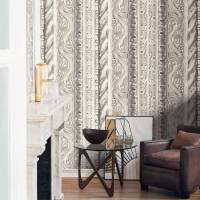 Bas Relief Vegetal Wallpanel - Beige