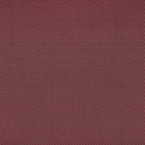 Casamance  Vertige Wallpapers  Ivresse Wallpaper - Red - 73650459