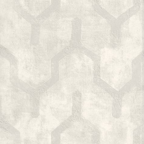 Casamance  Vertige Wallpapers  Tenebreuse Wallpaper - White - 73660163