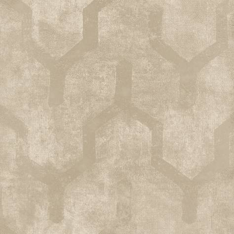 Casamance  Vertige Wallpapers  Tenebreuse Wallpaper - Beige - 73660265