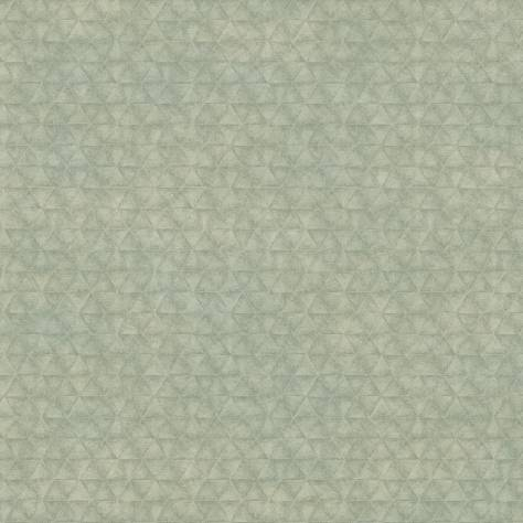 Casamance  Shadows Wallpapers Irony Wallpaper - Vert De Gris - 73550348