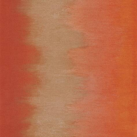 Casamance  Shadows Wallpapers Pulsion Wallpaper - Orange Sanguine - 73580274