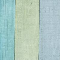 Wooden Panel Wallpaper - Turquoise