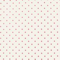 Twinkle Wallpaper - Cream/Red