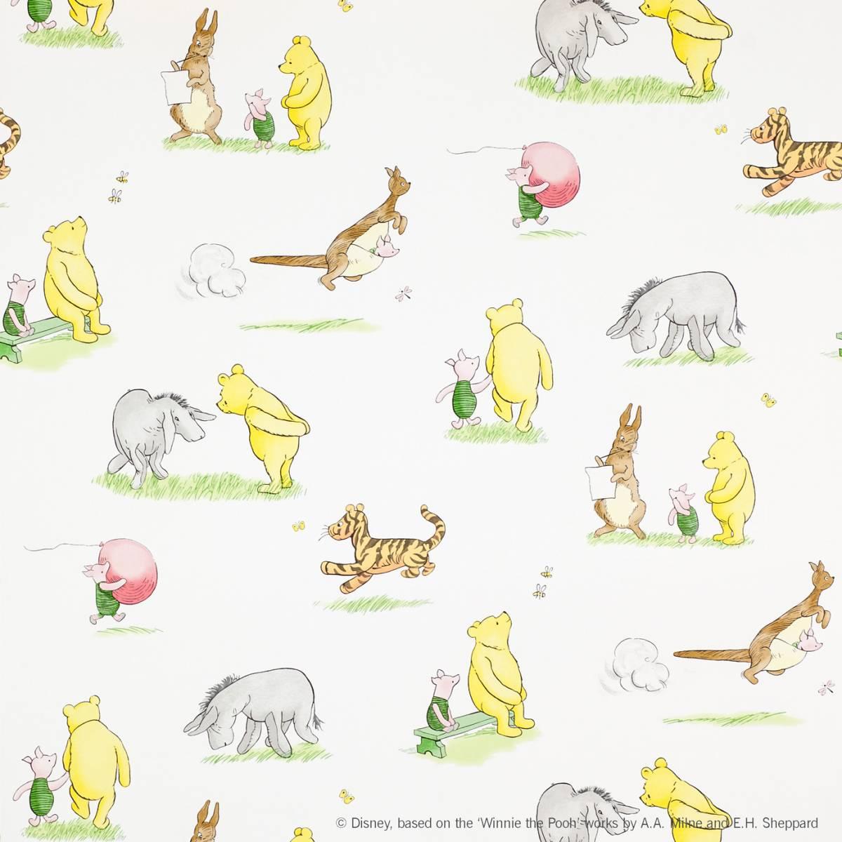 Wallpaper Winnie The Pooh: Winnie The Pooh And Friends Wallpaper