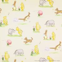 Winnie the Pooh and Friends Wallpaper - Vintage/Multi