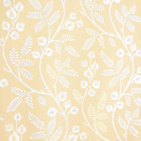 Colefax & Fowler  Baptista Wallpapers Morrigan Wallpaper - Yellow - 07154/03