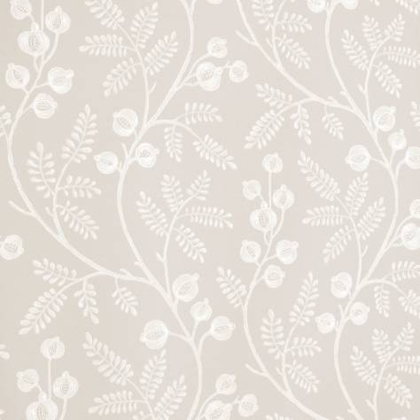 Colefax & Fowler  Baptista Wallpapers Morrigan Wallpaper - Silver - 07154/04