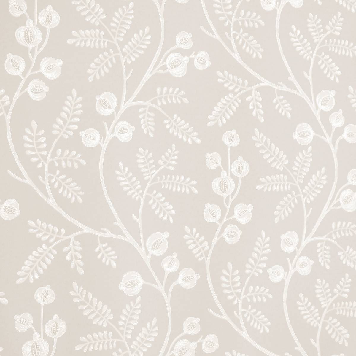 Colefax Fowler Morrigan Wallpaper Silverproduct Code 0715404
