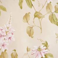 Passiflora Wallpaper - Pink/Green