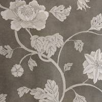 Lotus Trail Wallpaper - Charcoal