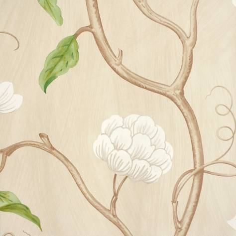 Colefax & Fowler  Baptista Wallpapers Snow Tree Wallpaper - Cream - 07949/01