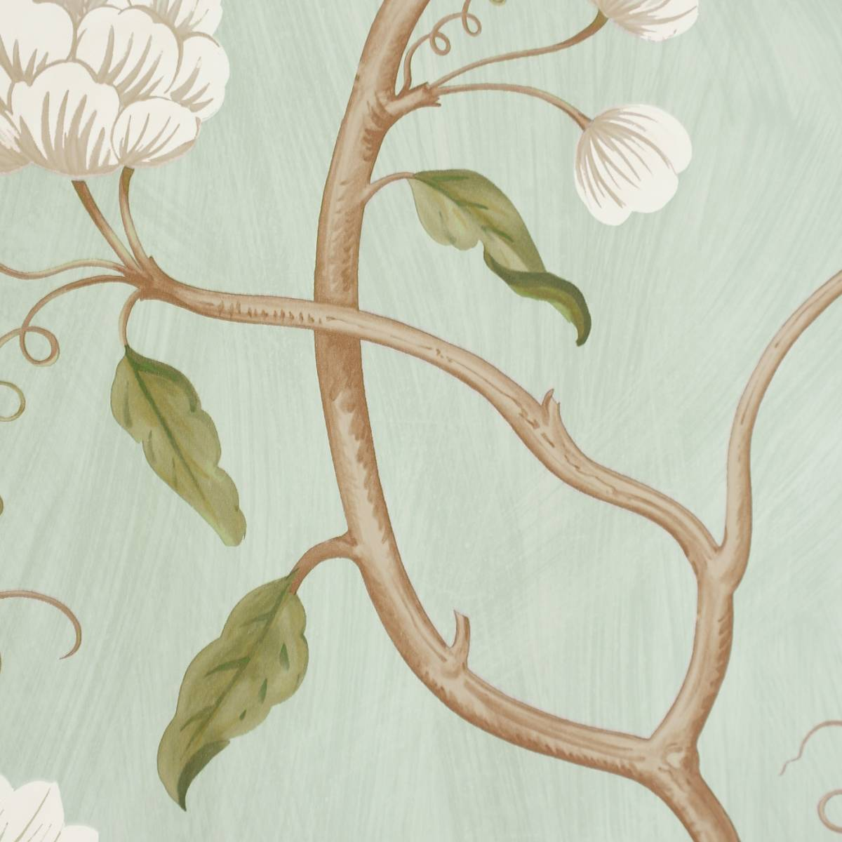 snow tree wallpaper aqua 07949 04 colefax fowler baptista wallpapers collection. Black Bedroom Furniture Sets. Home Design Ideas