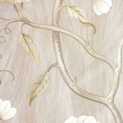 Colefax & Fowler  Baptista Wallpapers Snow Tree Wallpaper - Silver - 07949/10