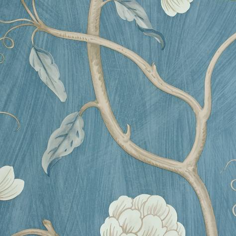 Colefax & Fowler  Baptista Wallpapers Snow Tree Wallpaper - Blue - 07949/11