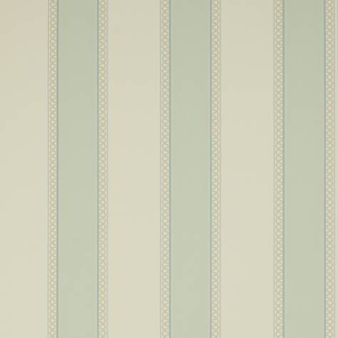 Colefax & Fowler  Mallory Stripes Wallpapers Chartworth Stripe Wallpaper - Old Blue - 07139/08