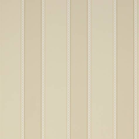 Colefax & Fowler  Mallory Stripes Wallpapers Chartworth Stripe Wallpaper - Stone - 07139/09