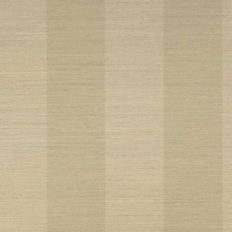 Colefax & Fowler  Mallory Stripes Wallpapers Sandrine Stripe Wallpaper - Biscuit - 07184-02
