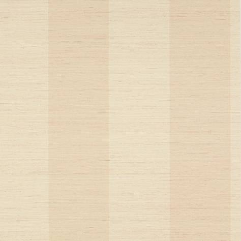 Colefax & Fowler  Mallory Stripes Wallpapers Sandrine Stripe Wallpaper - Pink - 07184-03