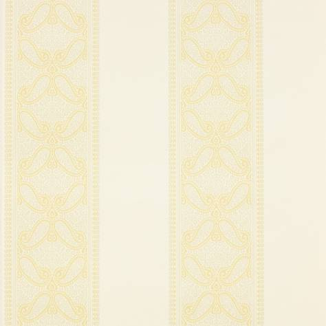 Colefax & Fowler  Mallory Stripes Wallpapers Verney Stripe Wallpaper - Gold - 07186-02