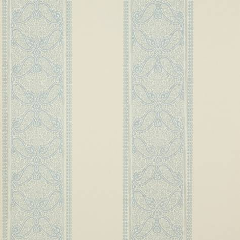 Colefax & Fowler  Mallory Stripes Wallpapers Verney Stripe Wallpaper - Blue - 07186-05
