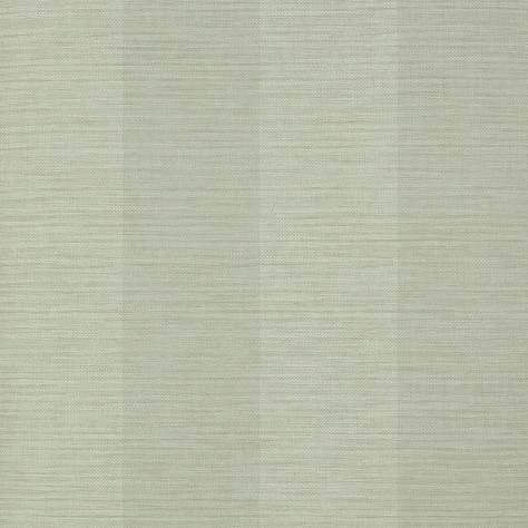 Colefax & Fowler  Mallory Stripes Wallpapers Appledore Stripe Wallpaper - Silver - 07187-02