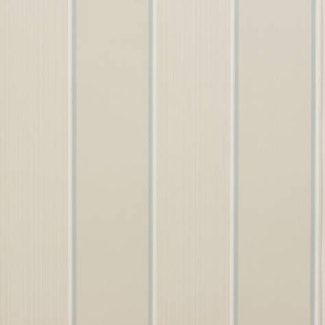 Colefax & Fowler  Mallory Stripes Wallpapers Mallory Stripe Wallpaper - Silver - 07188-03