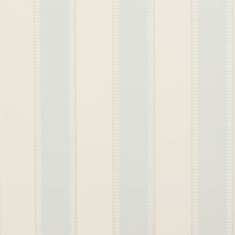 Colefax & Fowler  Mallory Stripes Wallpapers Hume Stripe Wallpaper - Old Blue - 07189-05