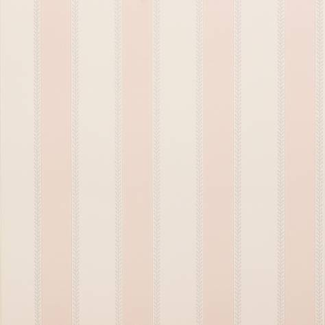 Colefax & Fowler  Mallory Stripes Wallpapers Graycott Stripe Wallpaper - Old Pink - 07190-01