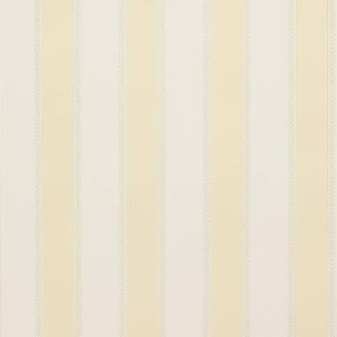 Colefax & Fowler  Mallory Stripes Wallpapers Graycott Stripe Wallpaper - Yellow - 07190-03