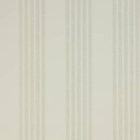 Colefax & Fowler  Mallory Stripes Wallpapers Jude Stripe Wallpaper - Silver - 07191-04